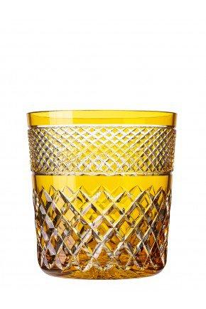 balde de gelo amarelo